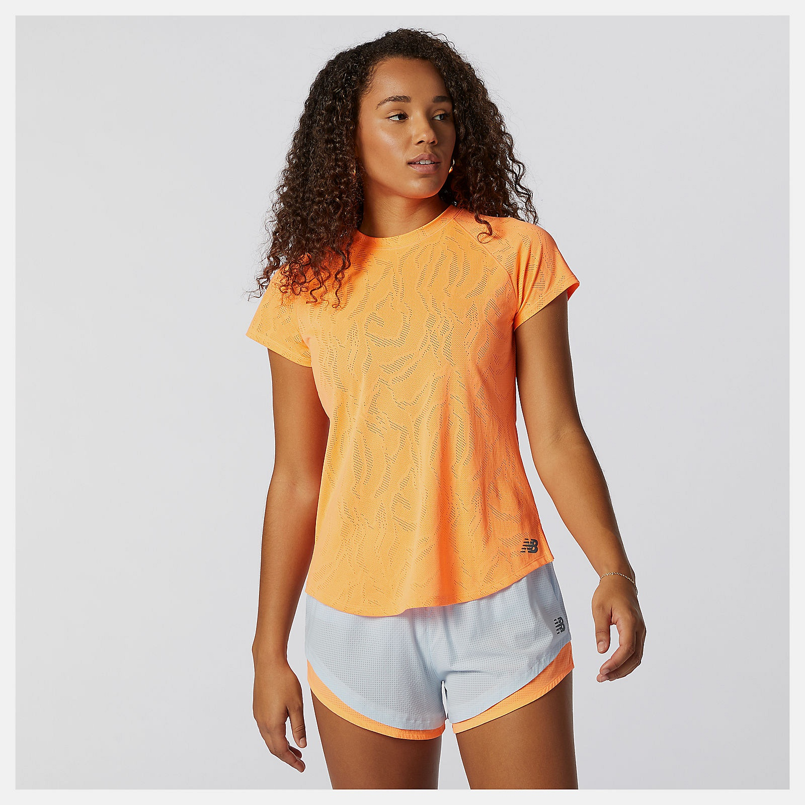 New Balance Q Speed Fuel Jacquard Damen T-Shirt